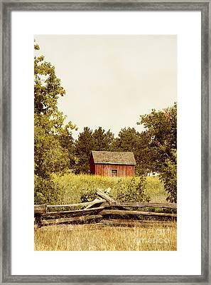 Countryside Framed Print by Margie Hurwich