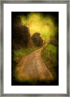 Countryside Road Framed Print by Svetlana Sewell
