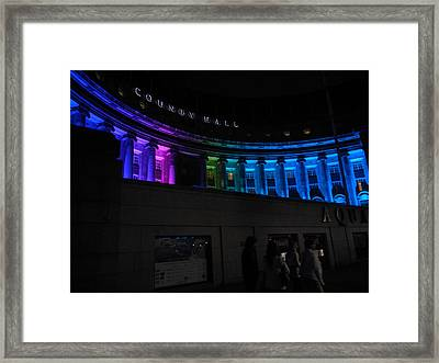 County Hall Framed Print by Catherine Morgan