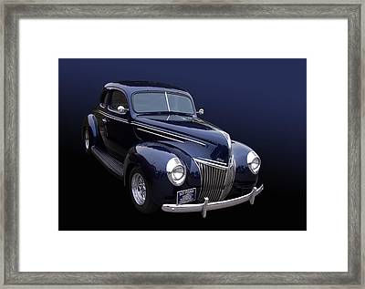Coupe 39 Framed Print