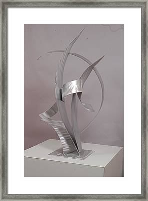 Couple Dancing Framed Print by Mac Worthington