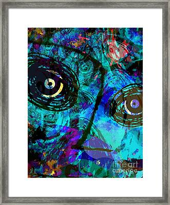 Courage - Trouble Don't Last Always Framed Print by Fania Simon