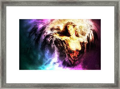Courage Framed Print by Joe Cruz