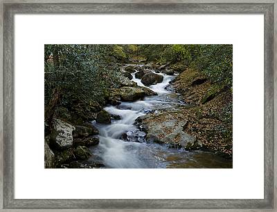 Courthouse Creek Framed Print