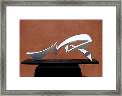 Courtship Of Amphitrite Framed Print by John Neumann
