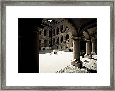 Courtyard Framed Print