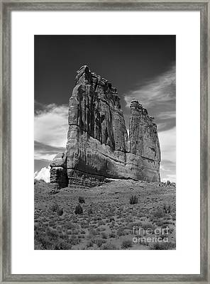 Couthouse Iv Framed Print by Robert Bales