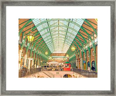 Covent Garden Framed Print by Damien Keating