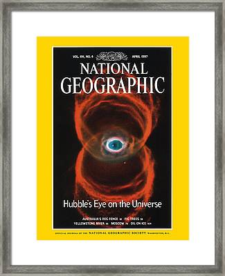 Cover Of The April, 1997 Issue Framed Print by Nasa