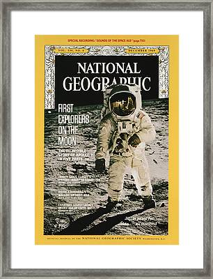 Cover Of The December, 1969 Issue Framed Print by Nasa