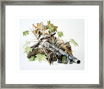 Covered And Ready Framed Print by Dana Bellis