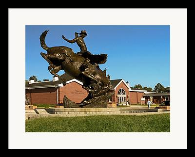 Champion Lane Frost Framed Prints