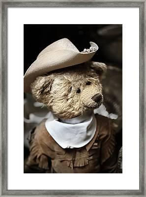 Cowboy Teddy 1 Framed Print