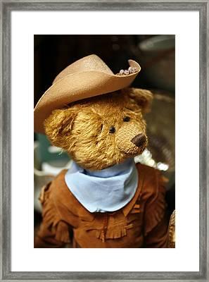 Cowboy Teddy 2 Framed Print