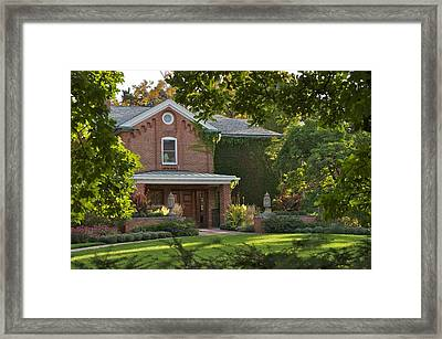 Framed Print featuring the photograph Cowles House by Joseph Yarbrough