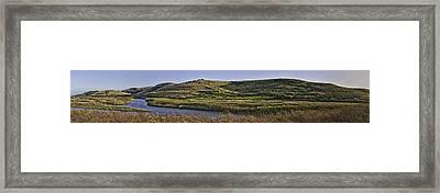 Coyote Hills Regional Park Framed Print by Nathaniel Kolby