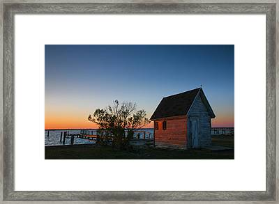 Crab Shack IIi Framed Print by Steven Ainsworth