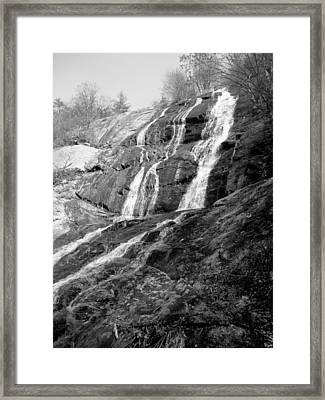Crab Tree Falls Framed Print