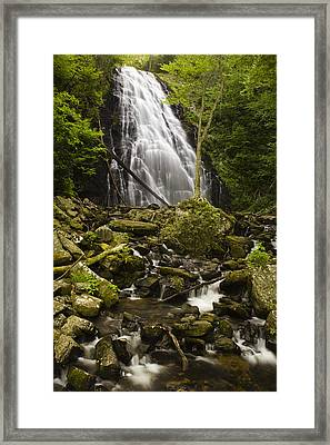 Crabtree Falls Framed Print by Andrew Soundarajan