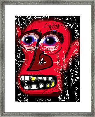 Crackhead 2 Framed Print