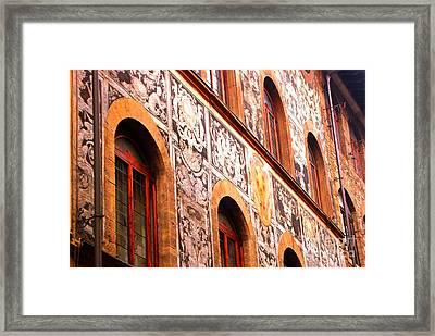 Cradle Of Renaissance Framed Print