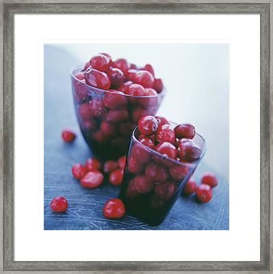 Cranberries Framed Print by David Munns