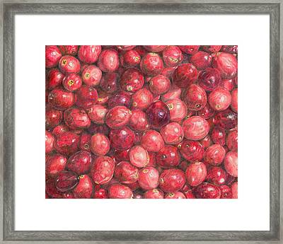 Cranberries Framed Print by Dominic White