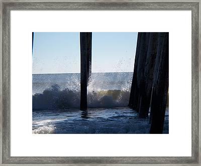 Crashing Wave Framed Print
