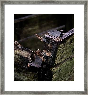 Crate Of Air Framed Print
