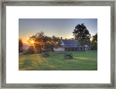 Cravens House Framed Print by David Troxel