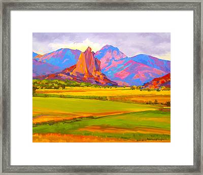 Crawford Rock Framed Print