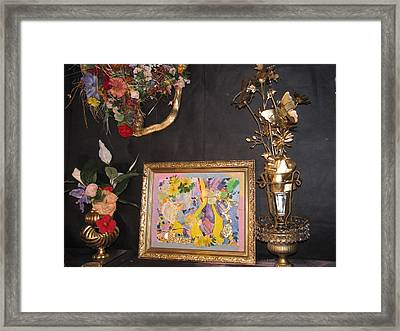Creating Is My Life Framed Print by HollyWood Creation By linda zanini