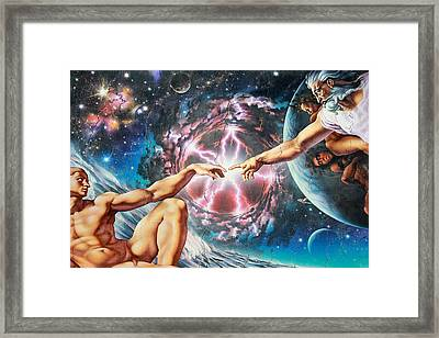 Creation Framed Print by Adrian Chesterman