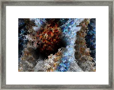 Creation Framed Print by Christopher Gaston
