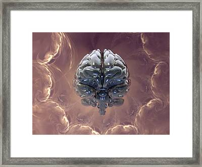 Creation Of The Human Brain, Artwork Framed Print