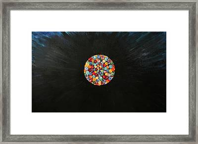 Creation Framed Print by Shahine Ali