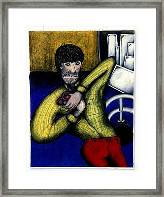 Creative Angst Framed Print by Billy Knows
