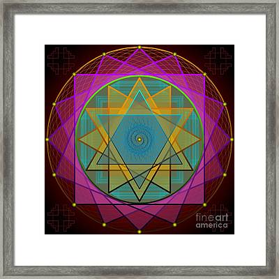 Creative Power 2012 Framed Print by Kathryn Strick