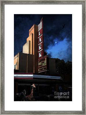 Creature Feature At The Lark - Larkspur California - 5d18484 Framed Print