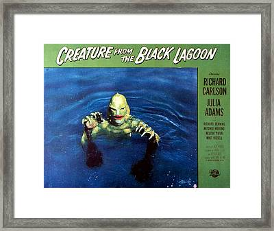 Creature From The Black Lagoon, 1954 Framed Print by Everett