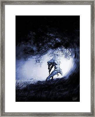 Creature Framed Print by Ryan Shaffer