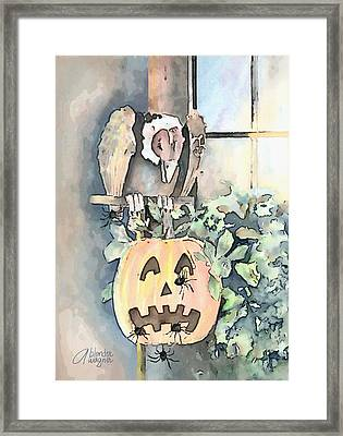 Creepy Crawlers Framed Print by Arline Wagner