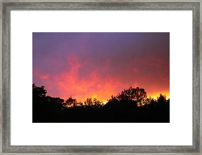 Framed Print featuring the photograph Crepuscule by Bruce Patrick Smith