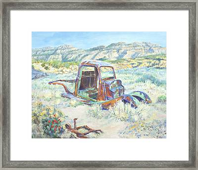 Crescent Canyon Relic Framed Print