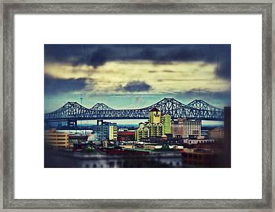 Crescent City Connection Framed Print