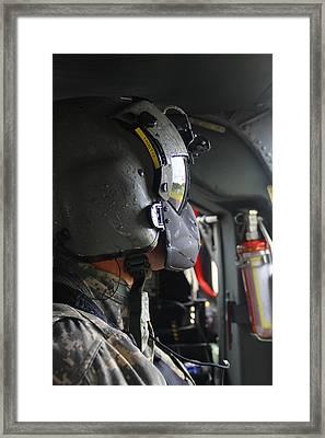 Crew Chief Framed Print by Steven Humphrey