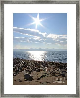 Criccieth Sunrise Framed Print