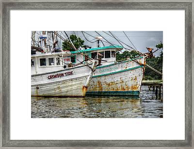 Crimson Tide And Christi Lynne Framed Print