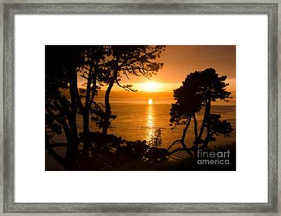 Crisp And Early Framed Print