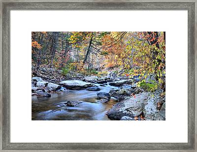 Crisp Autumn Air Framed Print by JC Findley